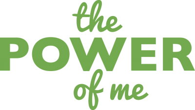 power of me green logo