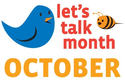 Let's Talk Month October Logo